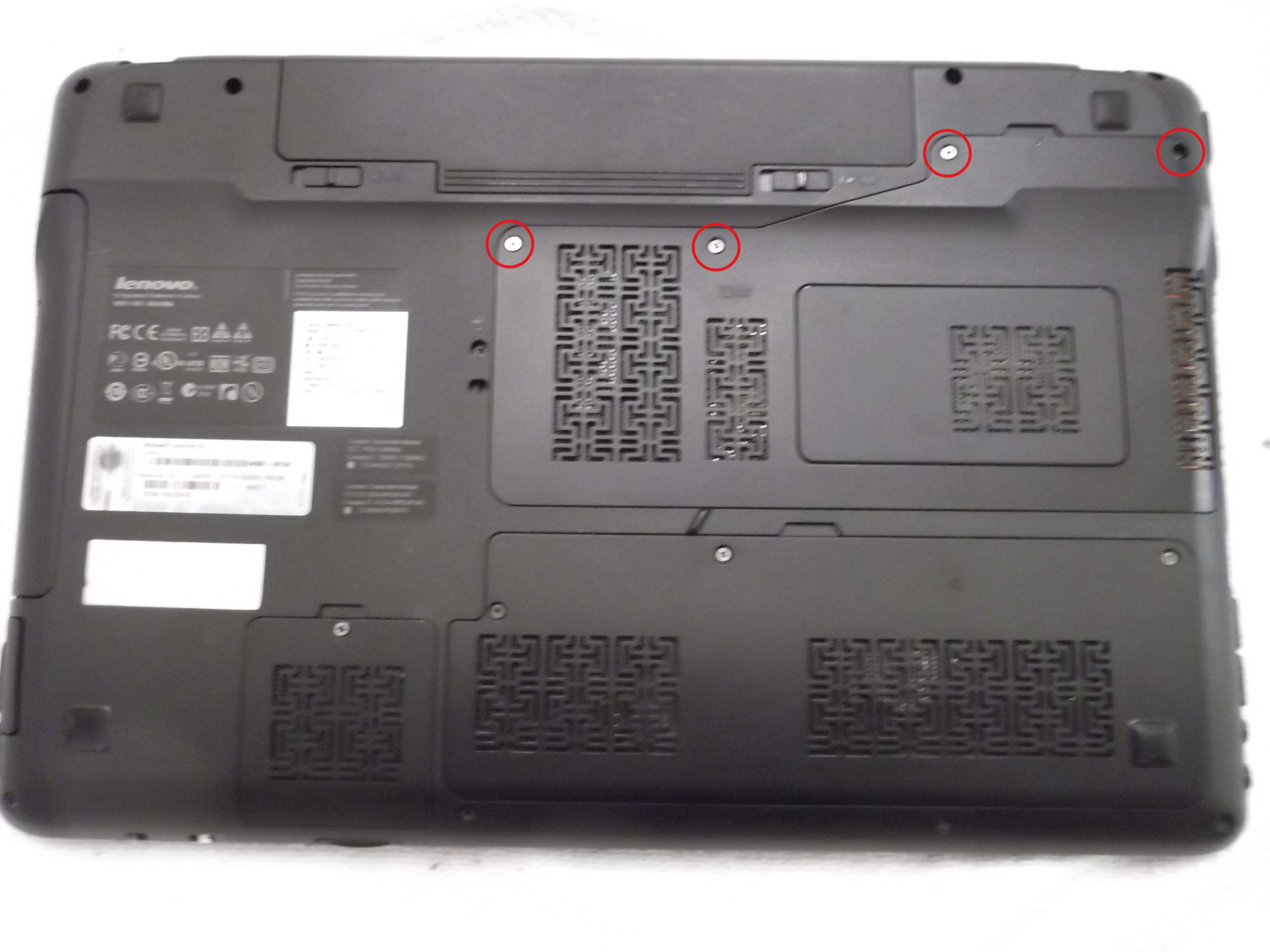 Lenovo IdeaPad Y560 Overheating Solved - Cooling Repair Guide