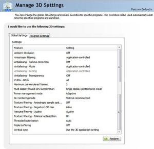 Nvidia Control Panel Device Settings - basicslivin