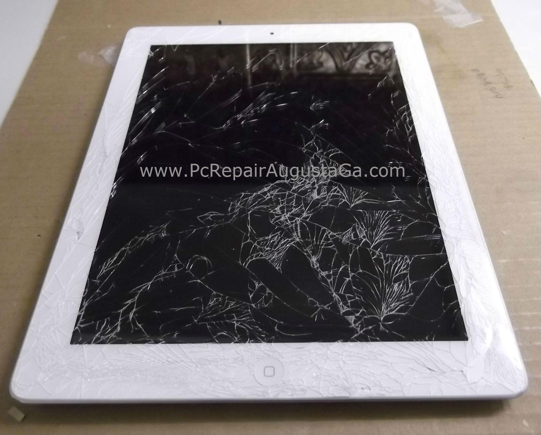 iPad 2 Shattered Screen Repair