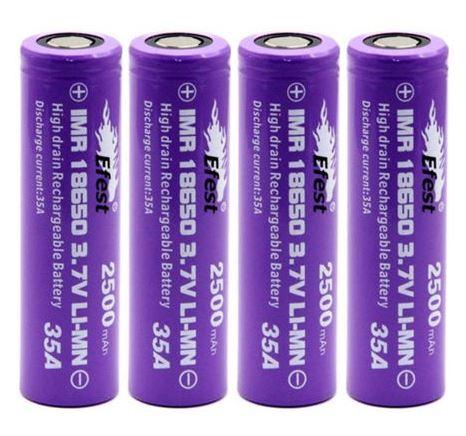 IMR eFest 18650 Battery