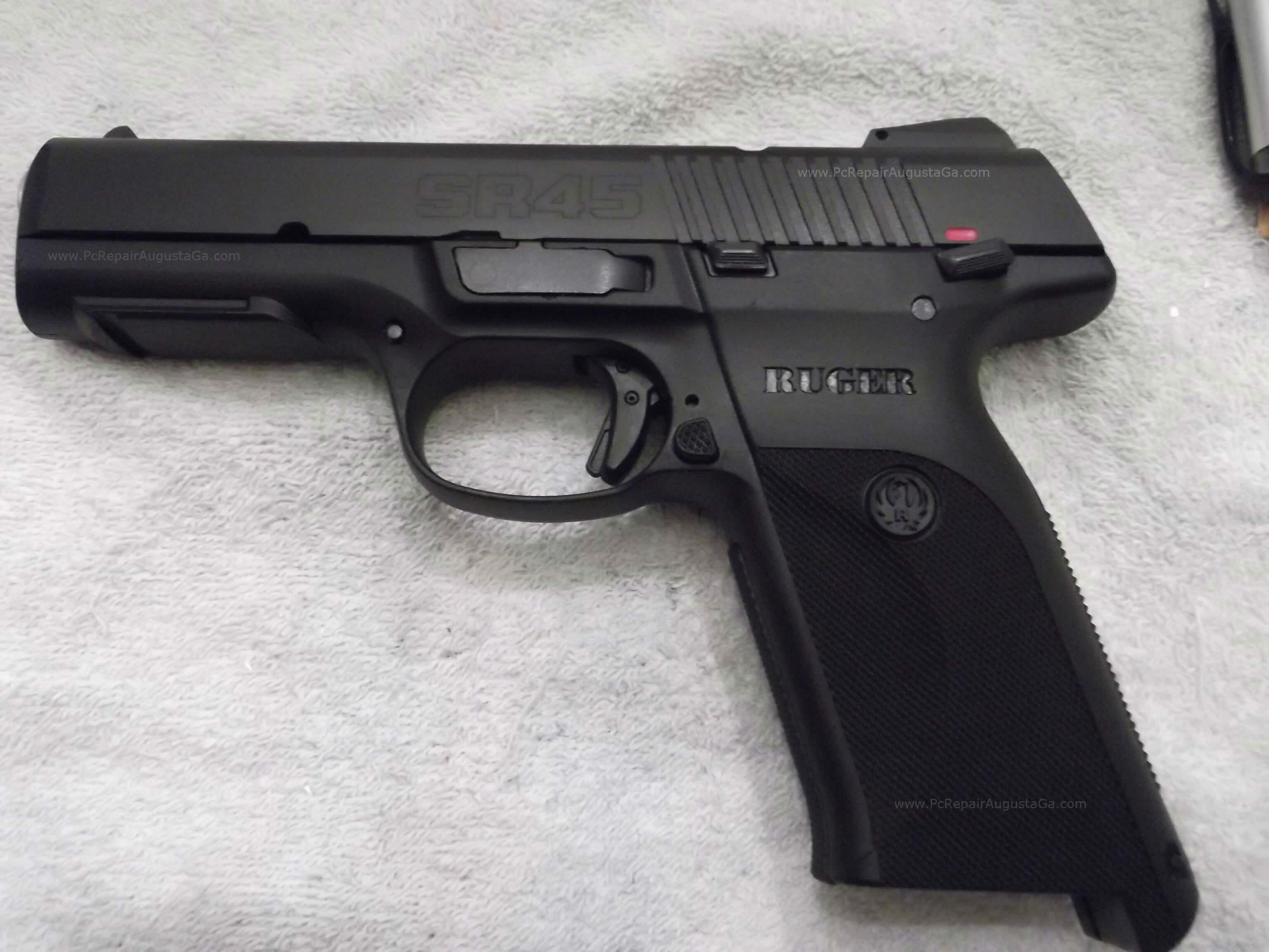 Ruger Sr45 Semi Automatic 45 Caliber Acp Handgun