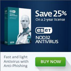 ESET NOD32 Antivirus - FREE 30 Day Trial